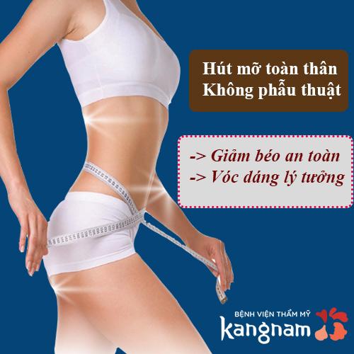 hút mỡ toàn thân không phẫu thuật kangnam