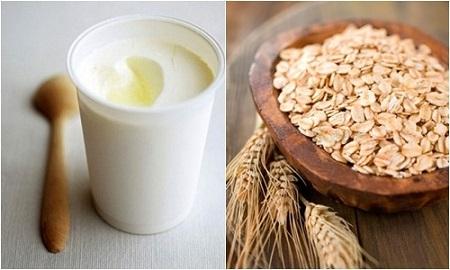 Giảm cân với yến mạch và sữa chua