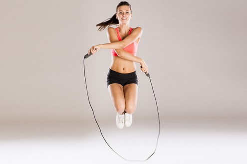 Nhảy dây có giảm mỡ bụng có bị to chân không