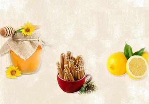 Cách giảm béo mặt bằng mật ong, bột quế mới xay và chanh