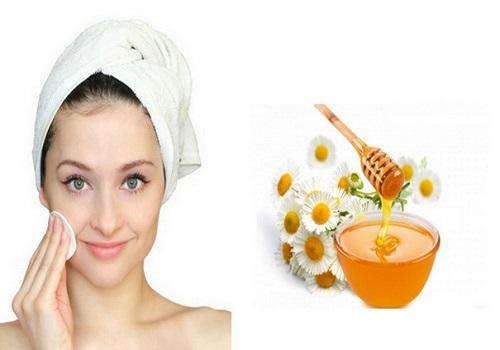 Giảm mỡ mặt bằng mật ong nguyên chất