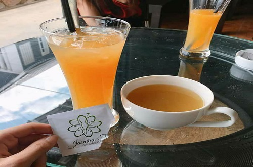 trà giảm cân jasmine tea chính hãng