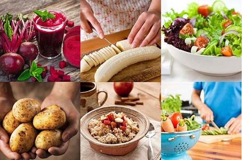 Thực đơn Eat Clean giảm cân 1 tháng trong ngày thứ bảy