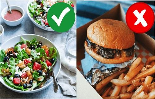 ăn gì để giảm béo mặt nhanh nhất