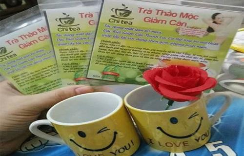 trà thảo mộc giảm cân Chi Tea giá bao nhiêu