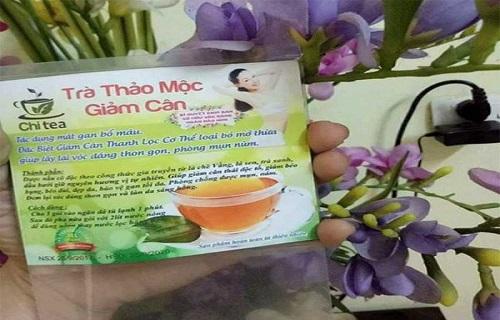 trà thảo mộc giảm cân Chi Tea