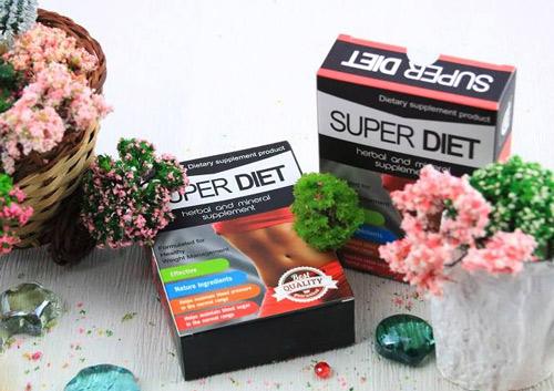 thuốc giảm cân super diet webtretho