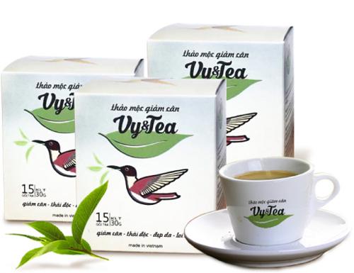 trà thảo mộc giảm cân vy&tea có tốt không