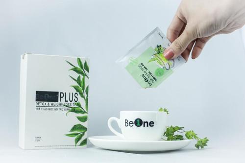 trà giảm cân beone review