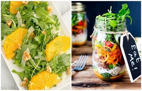 Dùng salad quýt giảm béo vô cùng tiết kiệm