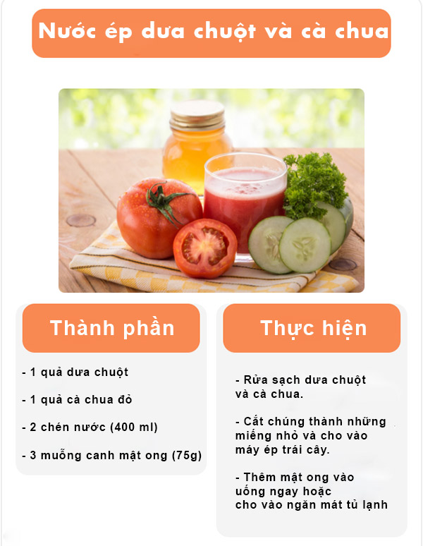 uống cà chua giảm cân
