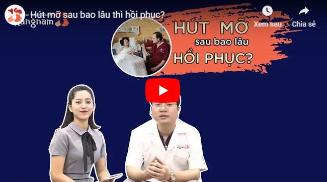 Video chăm sóc sau hút mỡ mông