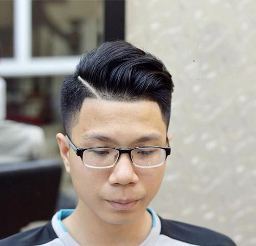 kiểu tóc undercut cho nam mặt tròn