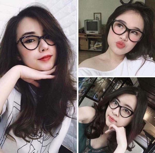 mặt to đeo kính gì