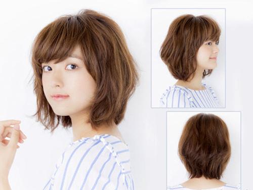 những kiểu tóc hợp với mặt tròn