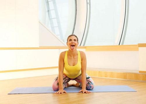các bài tập yoga giảm mỡ bụng