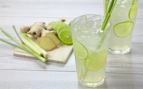 cách làm nước uống giảm mỡ bụng