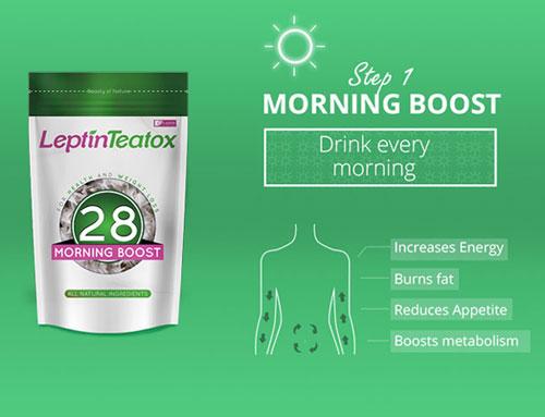 Review trà Leptin Teatox giảm cân