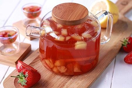 trà giảm béo táo đỏ