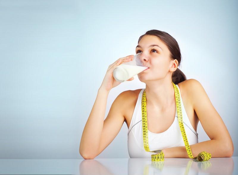 uống sữa giảm cân có hiệu quả không