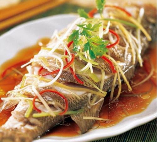 ăn cá hấp giảm cân