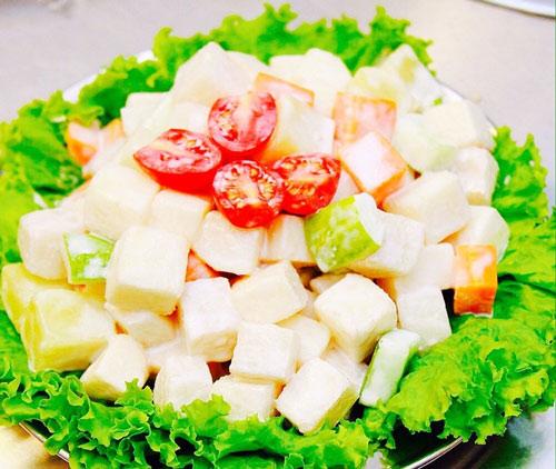 ăn củ đậu có giảm cân