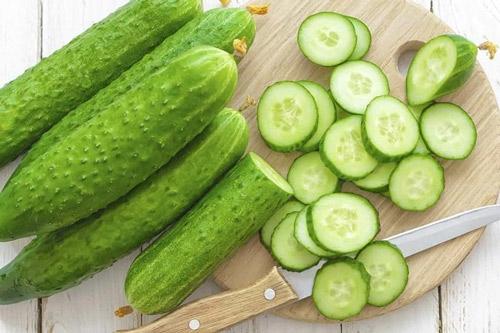 ăn dưa leo giảm cân