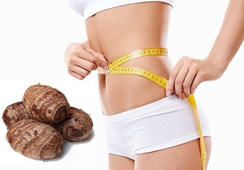 khoai sọ giảm cân