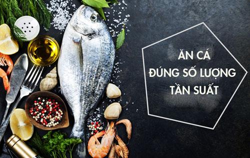 ăn nhiều cá có béo không