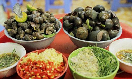ăn ốc luộc có béo không