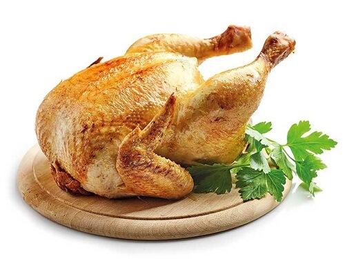 ăn thịt gà có béo không