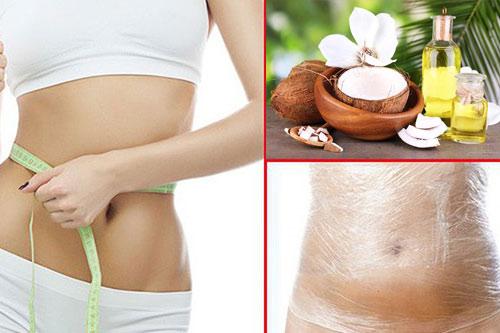 cách giảm cân với dầu dừa