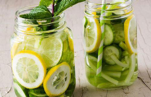 uống nước chanh giảm cân
