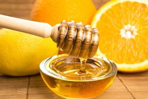 giảm cân bằng mật ong và cam
