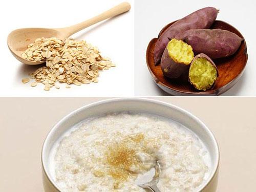 giảm cân bằng ngũ cốc yến mạch