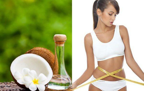 giảm cân từ dầu dừa