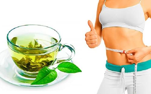 giảm cân bằng trà xanh webtretho