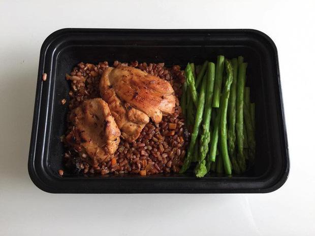 thực đơn ăn eat clean giảm cân