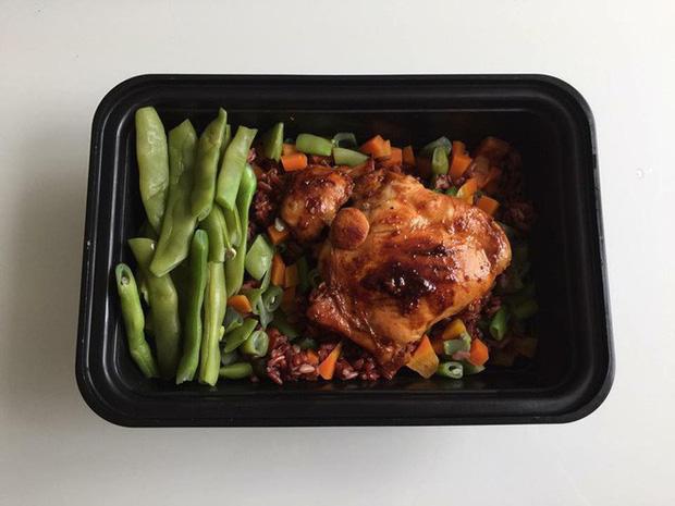 thực đơn eat clean tăng cơ giảm mỡ