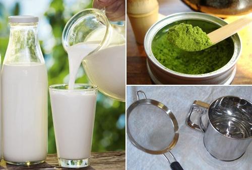 bột trà xanh giảm cân