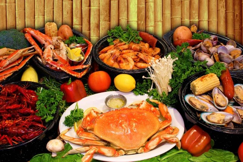 ăn hải sản có béo không