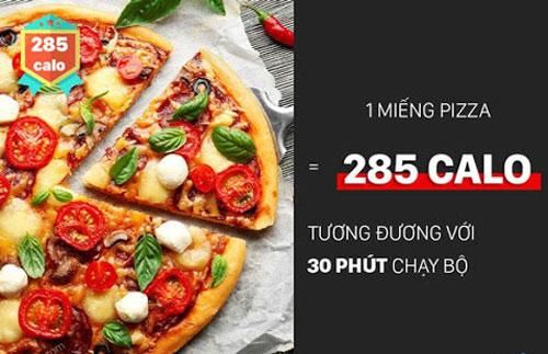 ăn pizza có béo không