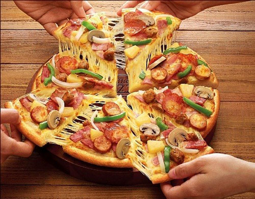 cách làm pizza giảm cân