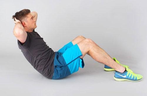 thể dục giảm mỡ bụng